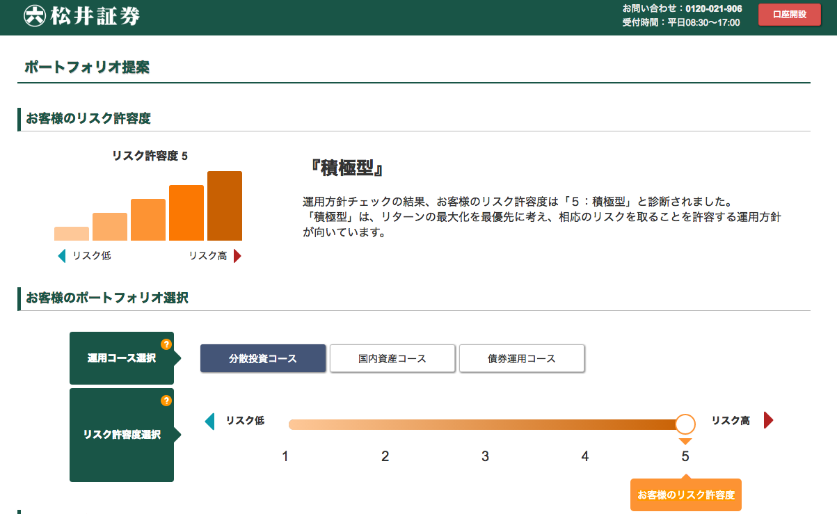 松井証券 投信工房