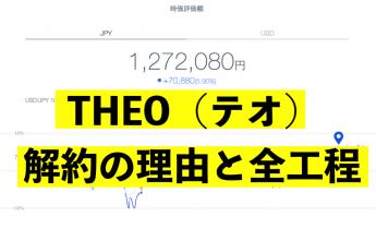 THEO(テオ) 解約方法